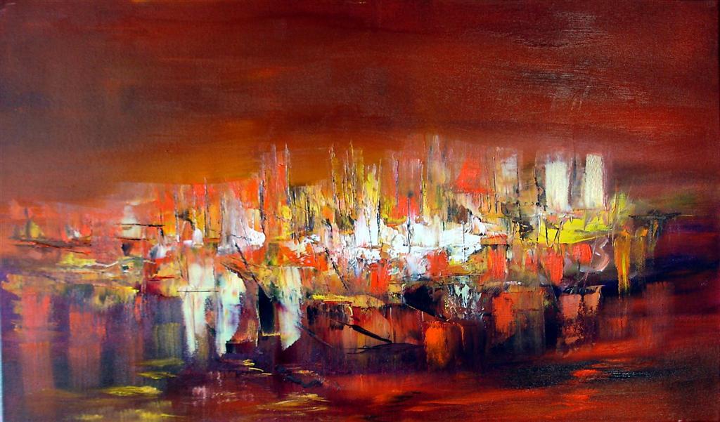 Artiste peintre abstrait symbolisme inspiration musicale for Peintres abstraits