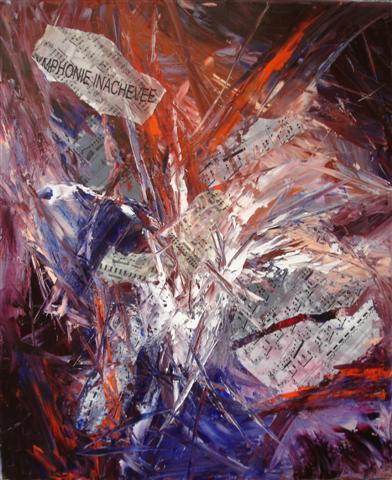 Artiste peintre abstrait symbolisme inspiration musicale for Peindre a l imperatif